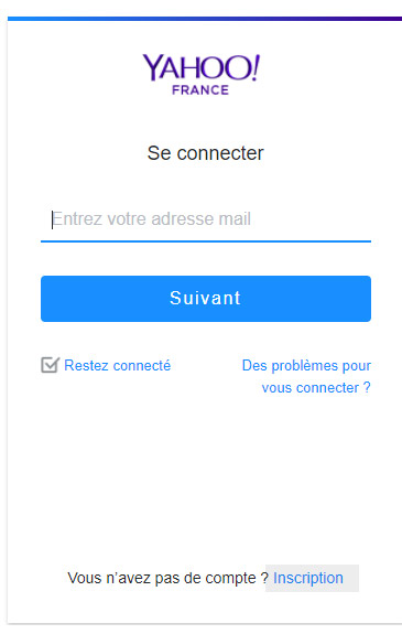 Le meilleur: yahoo inscription fr