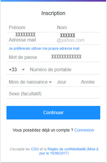 Messagerie électronique Yahoo