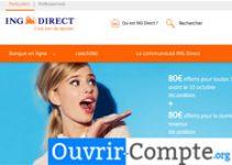 ouvrir compte ING Direct en ligne