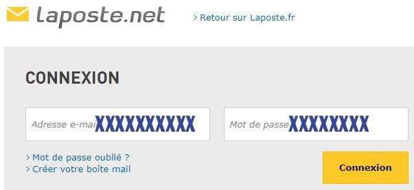 Se connecter mon mail Laposte.net