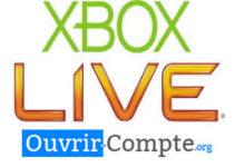 Ouvrir un compte xbox live