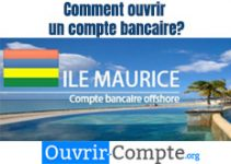Ouvrir compte bancaire Ile Maurice