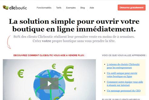 Clicboutic espace client
