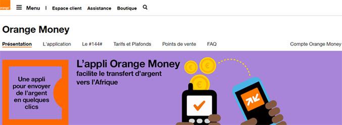 Compte Orange Money