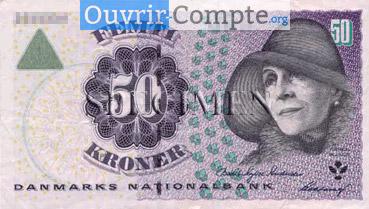 Ouvrir compte bancaire au Danemark
