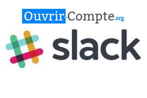 s'inscrire sur l'application Slack