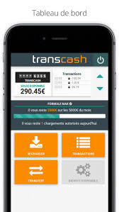 application mobile transcash
