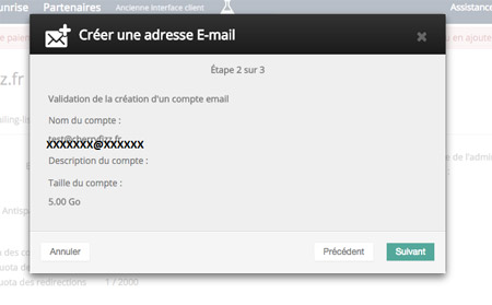 Obtenez une adresse e-mail personnalisée OVH
