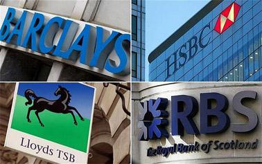 liste banques anglaises