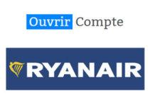 Créer un compte myRyanair