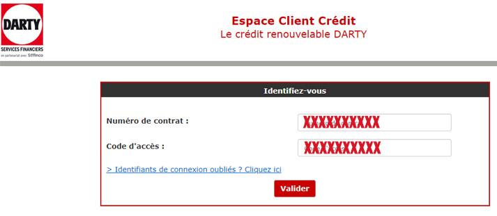 espace client crédit