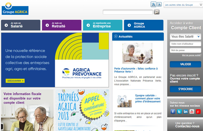 groupe agrica mutuelle