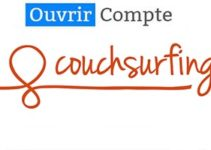 ouvrir un compte couchsurfing