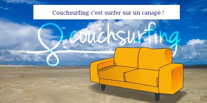 couchsurfing c'est surfer sur un canapé