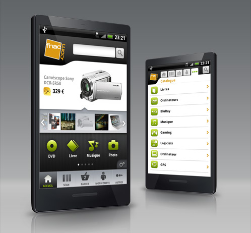 application mobile Fnac