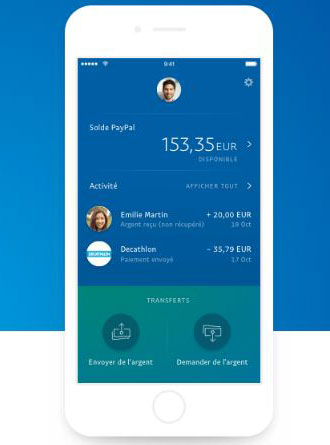 application mobile paypal