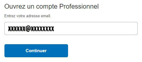 compte pro paypal