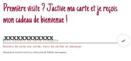 Franprix.fr créer mon compte