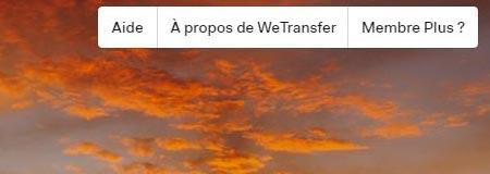 Wetransfer français