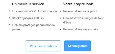 Wetransfer français gratuit