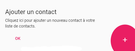 ajouter un contact