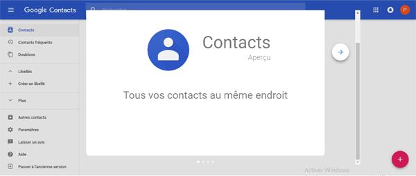 créer groupe gmail