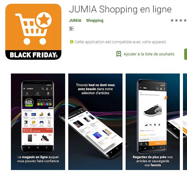 Application mobile jumia