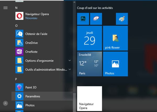 créer un compte utilisateur depuis les paramètres Windows 10