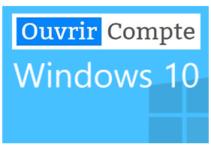 ouvrir compte utilisateur sous windows