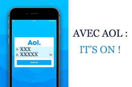 mon application mobile Aol