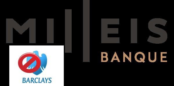 La banque en ligne Milleis ( ex barclays )