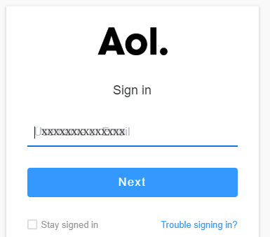 sign in Aol Mail