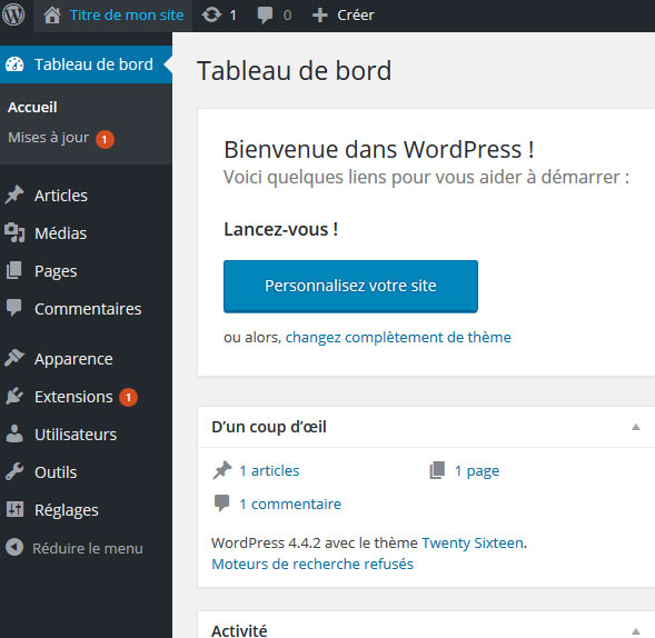 ajouter extension woocommerce