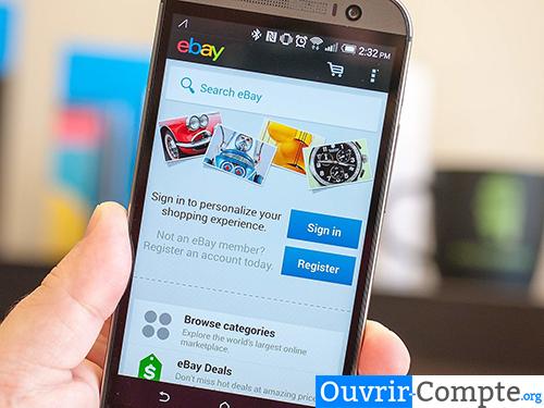 application mobile ebay