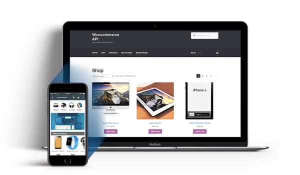 Woocommerce application mobile