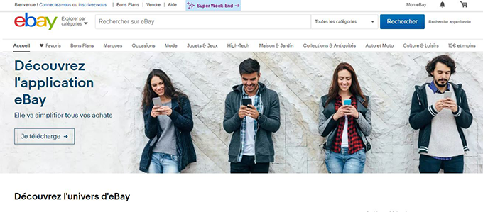 ebay site vente encheres