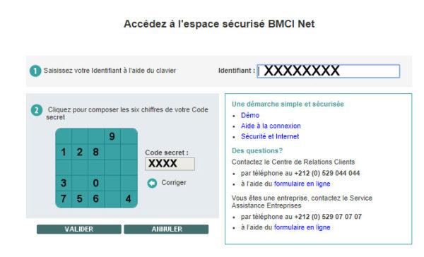accéder à mon espace sécurisé BMCI NET