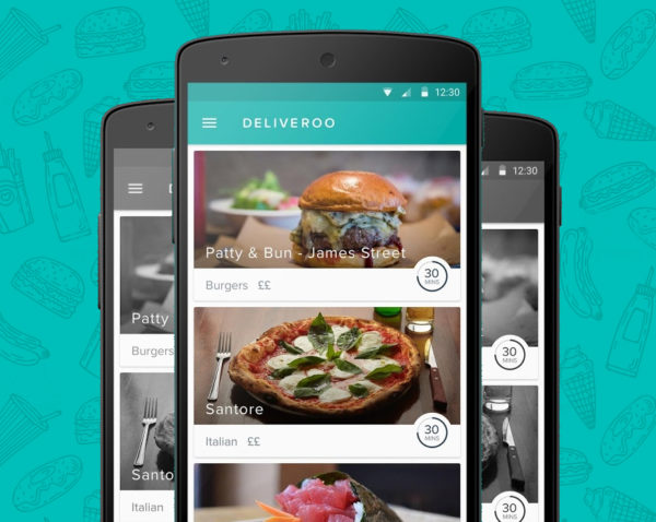 Application mobile deliveroo