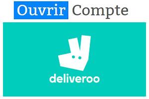 Créer compte Deliveroo