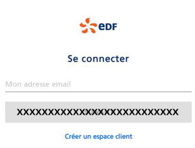 se connecter à un compte edf