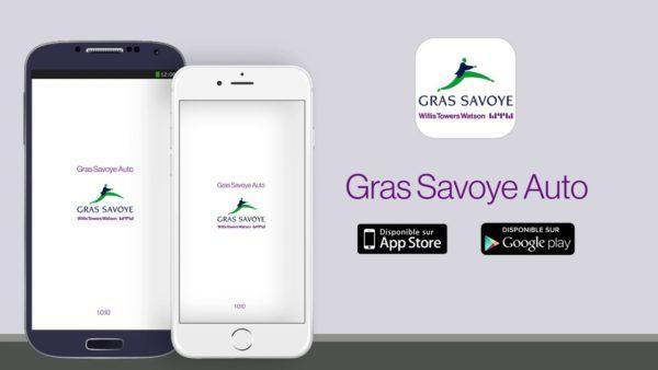 Application mobile Gras savoye