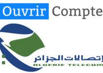 Ouvrir compte Algérie Telecom