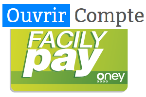 créer compte Facily Pay