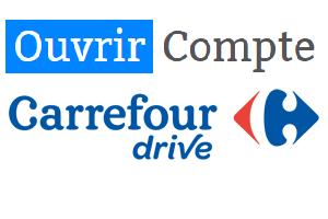 créer un compte drive carrefour