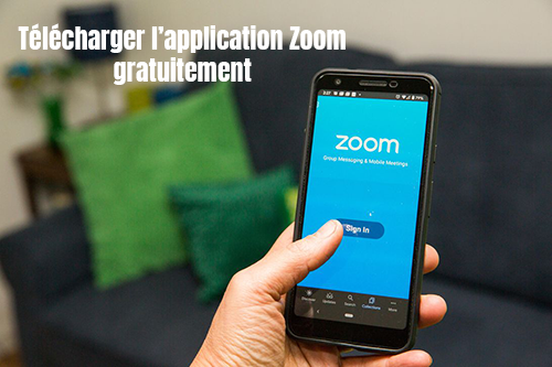 application mobile zoom