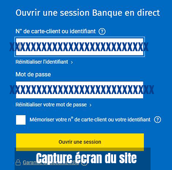 ouvrir session banque direct