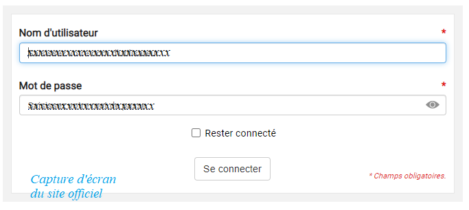 connexion à cned.fr