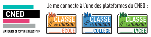 ma classe virtuelle CNED