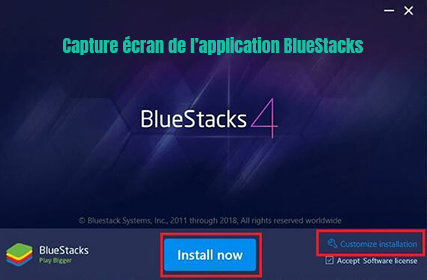 Bluestacks-application