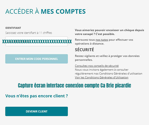 consulter mes comptes ca brie picardie